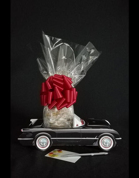 Black Classic Car - 12 Cookies and Brownies