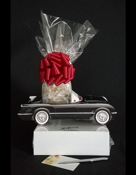 Black Classic Car - Small Tower - 36 Cookies and Brownies