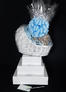 Baby Bassinet - Super Tower - Baby Blue Bow - 96 Cookies and Brownies