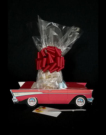 Red Classic Car - 12 Cookies and Brownies