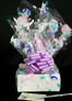 Small Box - Bunny Cellophane - Lavender Bow - 12 Cookies and Brownies