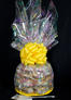 Super Cellophane - Confetti Cellophane - Yellow Bow - 42 Cookies and Brownies
