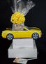 Yellow Modern Car - Large Tower - 48 Cookies and Brownies