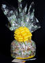 Super Cellophane - Daisy Cellophane - Yellow Bow - 42 Cookies and Brownies