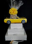 Yellow Modern Car - Super Tower - 84 Cookies and Brownies