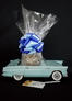 Blue Classic Car - 12 Cookies and Brownies