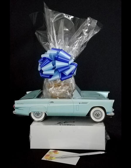 Blue Classic Car - Small Tower - 36 Cookies and Brownies