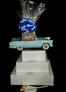 Blue Classic Car - Super Tower - 84 Cookies and Brownies