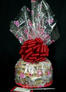 Large Cellophane - Heart Cellophane - Red Bow - 30 Cookies and Brownies
