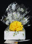 Small Box - Daisy Cellophane - Yellow Bow - 12 Cookies and Brownies